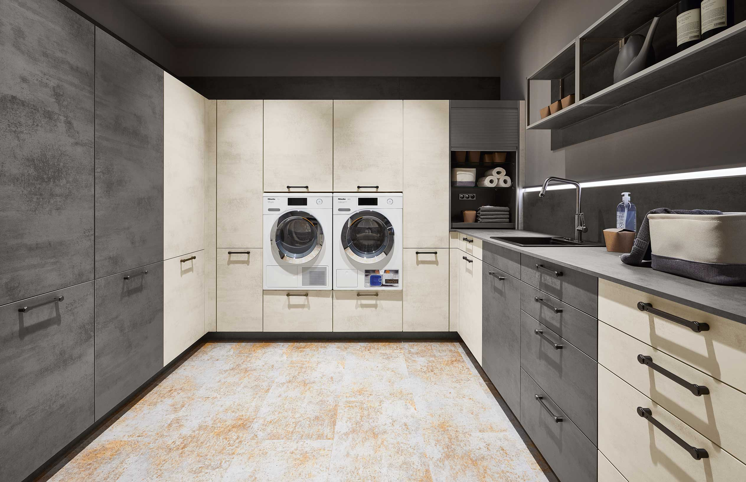 Laundry Room Modern Cabinets German Kitchen Cabinets California